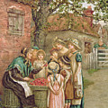 The Cherry Woman by Kate Greenaway