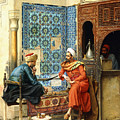 The Chess Game by Ludwig Deutsch
