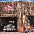The Chevron Station  by Kristia Adams