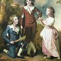 The Children Of Hugh And Sarah Wood Of Swanwick Derbyshire by John Saunders