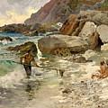 The Children Of The Sea - Capri by Mountain Dreams