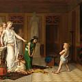 The Children's Quarrel by Pierre Olivier Joseph Coomans