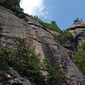 The Chimney At Chimney Rock State Park Nc by Anna Lisa Yoder
