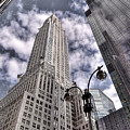 The Chrysler Building In Nyc Usa by Robert Ponzoni