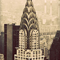 The Chrysler Building New York by Richard Bartlett