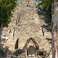 The Church At Grupo Coba At The Coba Ruins  by Carol Ailles