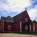 The Church Of Kustavi by Jouko Lehto