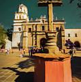 The Church Of San Juan Bautista Of Coyoacan 2  by Michelle Saraswati