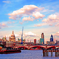 The City Of London By Day by Chris Smith