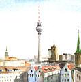 The Cityscape Of Berlin by Georgi Charaka