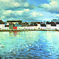 The Claddagh Galway by Conor McGuire