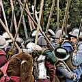 The Clash Of The Pikemen by Linsey Williams