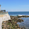 The Cliff Walk Newport Rhode Island 4 by John Van Decker