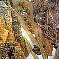 The Climb To Abbot's Hut - Paint by Steve Harrington