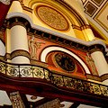 The Clock In The Union Station Nashville by Susanne Van Hulst