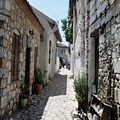 The Cobbled Back Streets Surrounding Old Marmaris by Taiche Acrylic Art