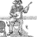 The Cold Banjo Player by Dominic White