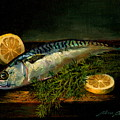 The Cold Water Mackerel With Dill  Lemon. by Alan Carlson
