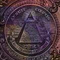 The Color Of Mason Money Close Up 1 Dollar Us 1 by Tony Rubino