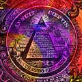 The Color Of Mason Money Close Up 1 Dollar Us 5  by Tony Rubino