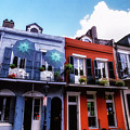 The Colorful French Quarter by Thomas R Fletcher