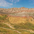 The Colors Of Badlands National Park by Brenda Jacobs