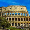 The Colosseum In Rome Italy by Marilyn Burton