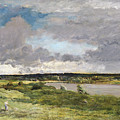 The Coming Storm, Early Spring by Charles Francois Daubigny
