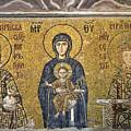 The Comnenus Mosaics In Hagia Sophia by Ayhan Altun