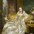 The Comtesse D'egmont Pignatelli In Spanish Costume by Alexander Roslin