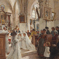 The Confirmation by Leon Augustin Lhermitte