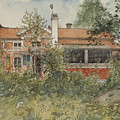 The Cottage. From A Home by Carl Larsson