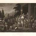 The County Election by George Caleb Bingham