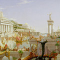The Course Of Empire - The Consummation Of The Empire by Thomas Cole