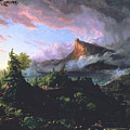 The Course Of Empire - The Savage State by Thomas Cole