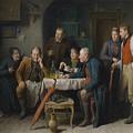 The Courtship  by Friedrich Friedlander