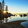 The Cove At Sand Harbor by Jamie Pham
