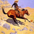 The Cowboy 1902 by Remington Frederic
