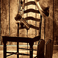 The Cowboy Chair by American West Legend By Olivier Le Queinec