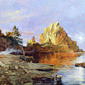 The Crest Of Rock Impressionism by Isabella Howard