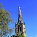 The Crooked Spire Of St Mary And All Saints Church, Chesterfield by Dave Porter