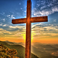 The Cross The Choice Pretty Place Chapel Greenville South Carolina Art by Reid Callaway