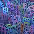 The Crowded City by Rod Whyte