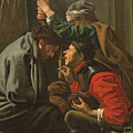The Crowning With Thorns And The Mocking Of Christ by Hendrick Ter Brugghen