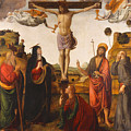 The Crucifixion by Cosimo Rosselli