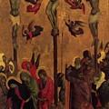 The Crucifixion by Duccio