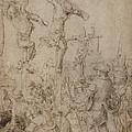 The Crucifixion by Netherlandish 16th Century