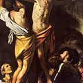 The Crucifixion Of Saint Andrew by Caravaggio