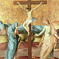 The Crucifixion With The Virgin And St John The Evangelist by French School