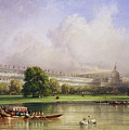 The Crystal Palace Seen From The Serpentine by William